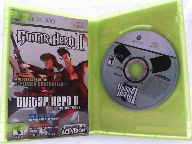 MICROSOFT Microsoft XBOX 360 Game GUITAR HERO II