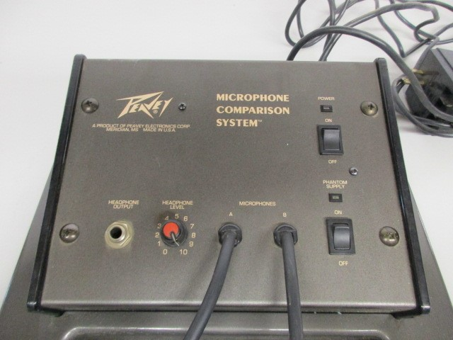 PEAVEY MICROPHONE COMPARISON SYSTEM, PARTS OR NOT WORKING.
