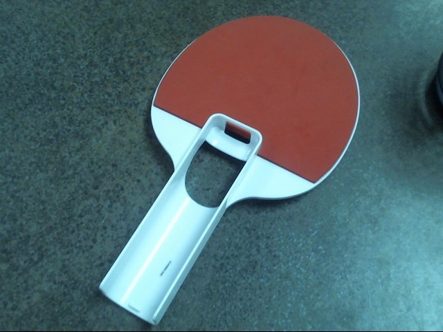 NINTENDO Video Game Accessory WII REMOTE ping pong paddle