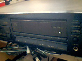 PIONEER ELECTRONICS CD Player & Recorder PD-M701