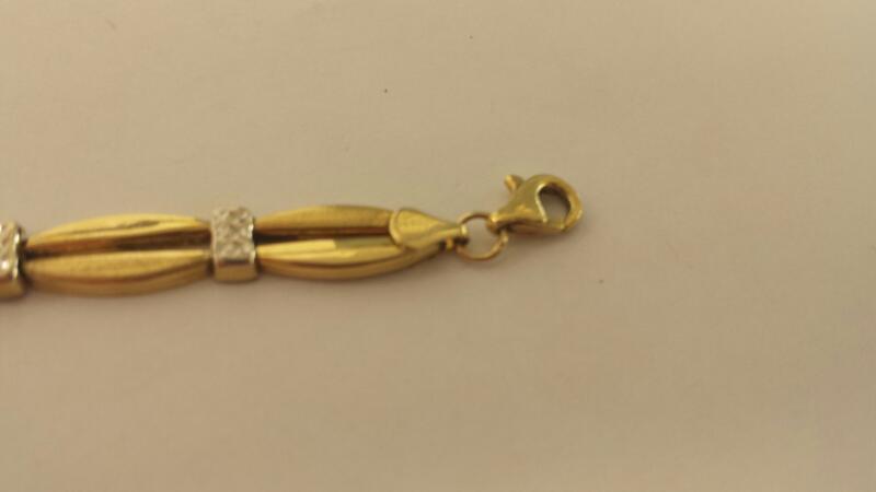 Gold Fashion Bracelet 14K Yellow Gold 4.1dwt
