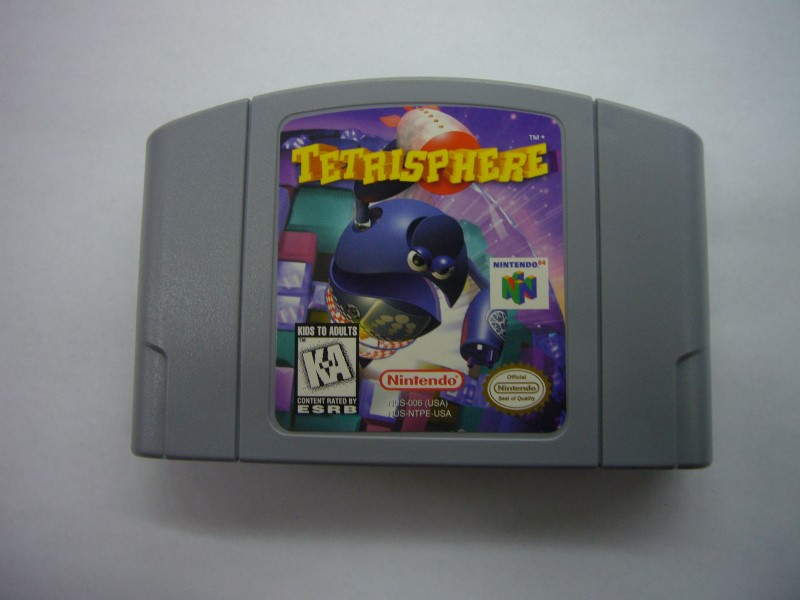 NINTENDO 64 Game TETRISPHERE *CARTRIDGE ONLY*