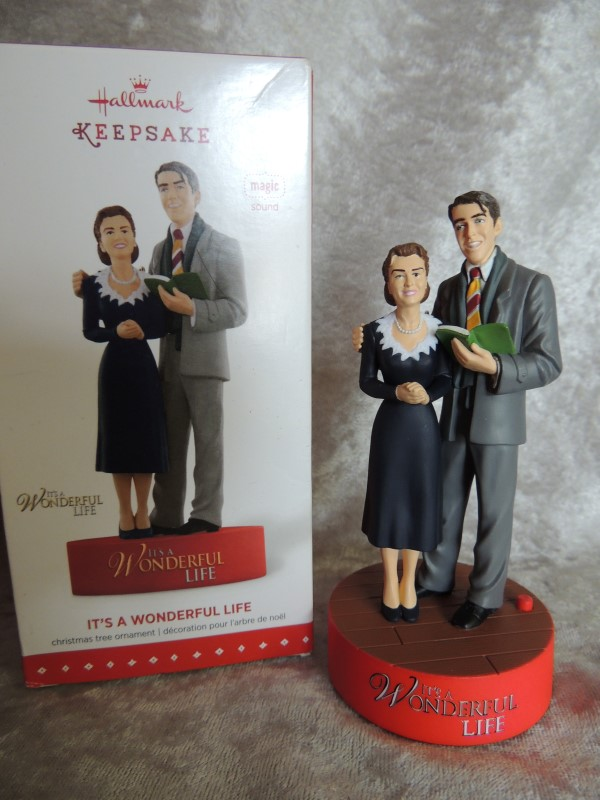 2015 Hallmark Keepsake Ornament - It's A Wonderful Life Movie