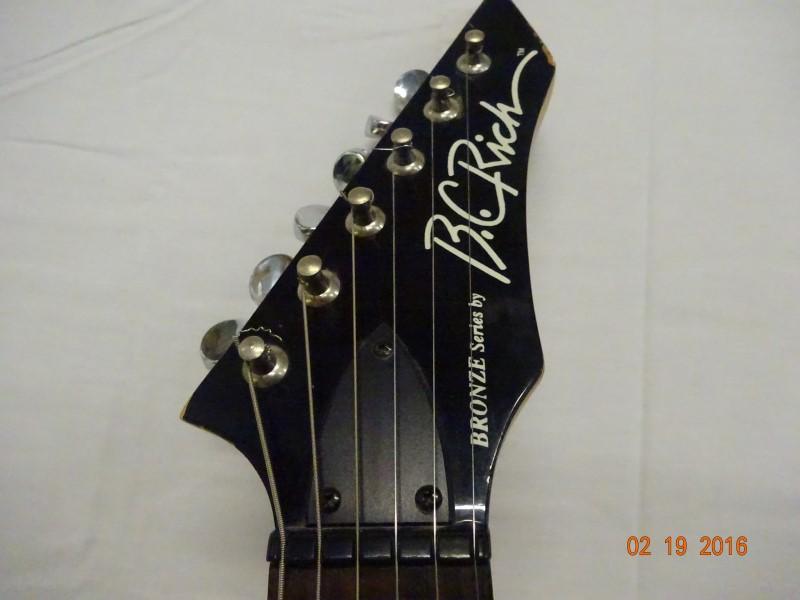 BC RICH Electric Guitar WG-5T/BK