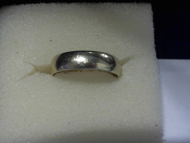 Gent's Gold Wedding Band 10K Yellow Gold 2.8g