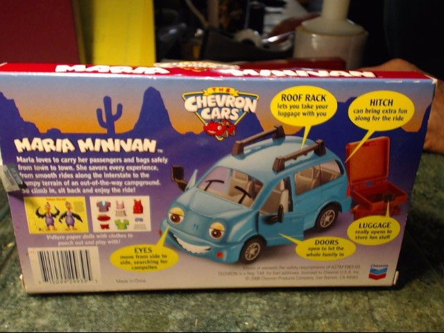 CHEVRON Miscellaneous Toy COLLECTABLE CAR