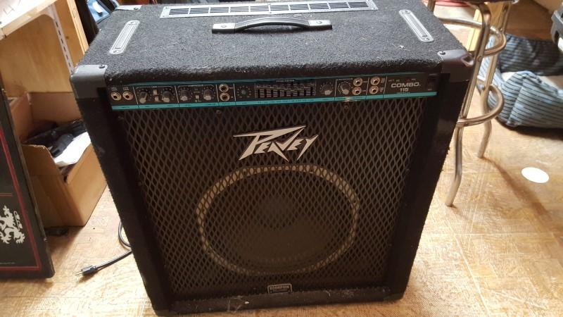 PEAVEY Bass Guitar Amp COMBO 115 BASS