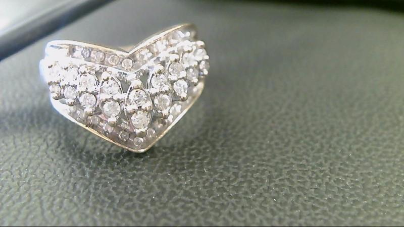 Gent's Diamond Cluster Ring 37 Diamonds 1.57 Carat T.W. 10K Yellow Gold 6.4g