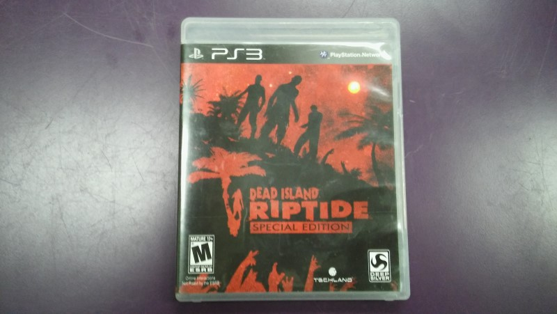 Sony PlayStation 3 PS3 DEAD ISLAND RIPTIDE SPECIAL EDITIONSony PlayStation 3 PS3