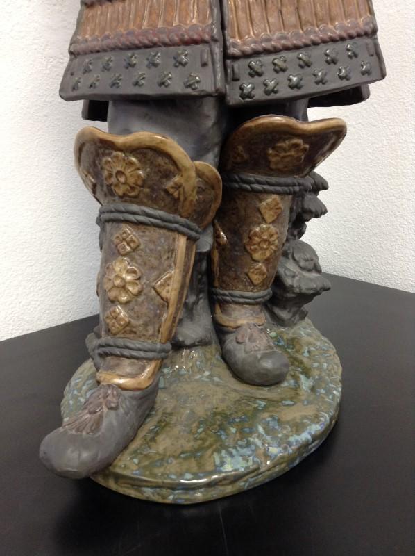 LLADRO Collectible Plate/Figurine 3575 SAMURAI