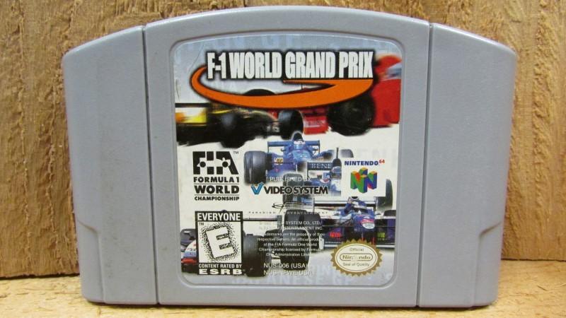 NINTENDO Nintendo 64 Game F-1 WORLD GRAND PRIX