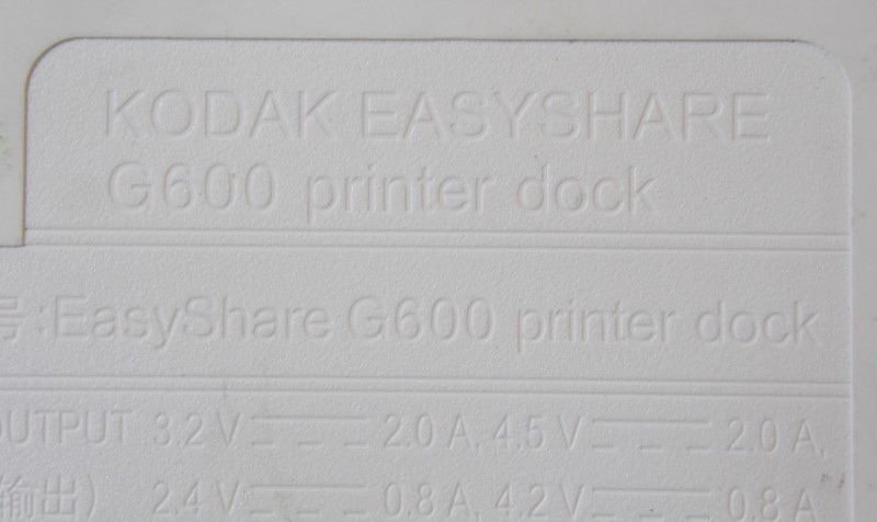 KODAK EASYSHARE G600 PRINTER DOCK WITH EXTRAS
