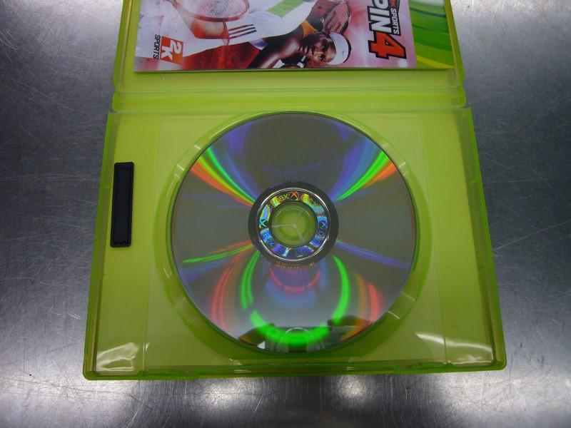 MICROSOFT Microsoft XBOX 360 Game 2K SPORTS TOPSPIN 4