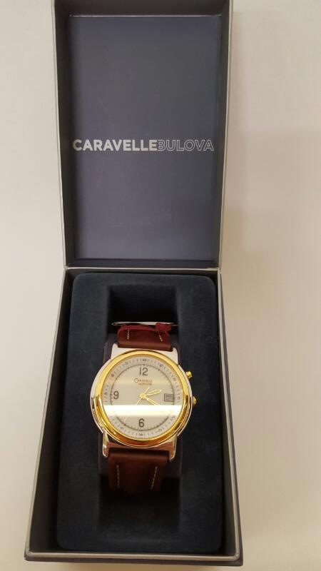 CARAVELLE Gent's Wristwatch BULOVA 45B07