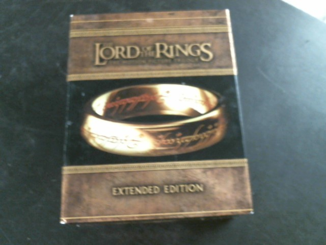 BLU-RAY MOVIE Blu-Ray THE LORD OF THE RINGS THE MOTION PICTURE TRILOGY