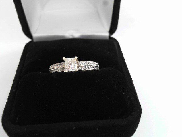Lady's Diamond Solitaire Ring .48 CT. 14K Yellow Gold 2.17dwt