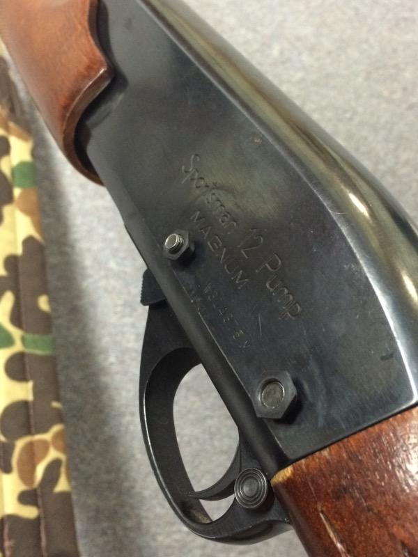 Remington - Sportsman 12 Pump - 12 GA.