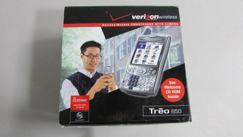 PALM PDA TREO 650