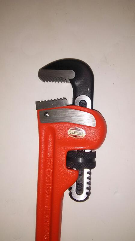 """RIDGID TOOLS Wrench 10"""" PIPE WRENCH"""