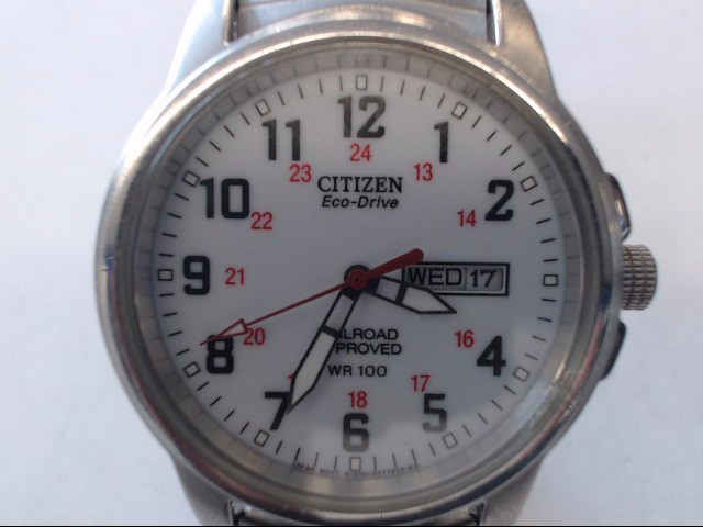 CITIZEN Gent's Wristwatch RAILROAD APPROVED