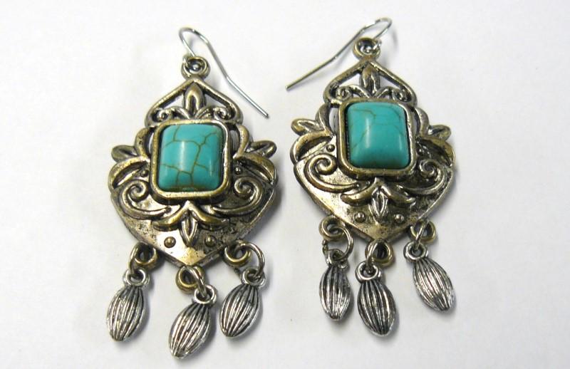Earrings Copper 6.57dwt