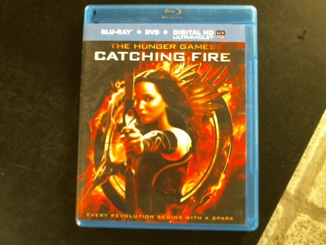 BLU-RAY MOVIE Blu-Ray THE HUNGER GAMES CATCHING FIRE