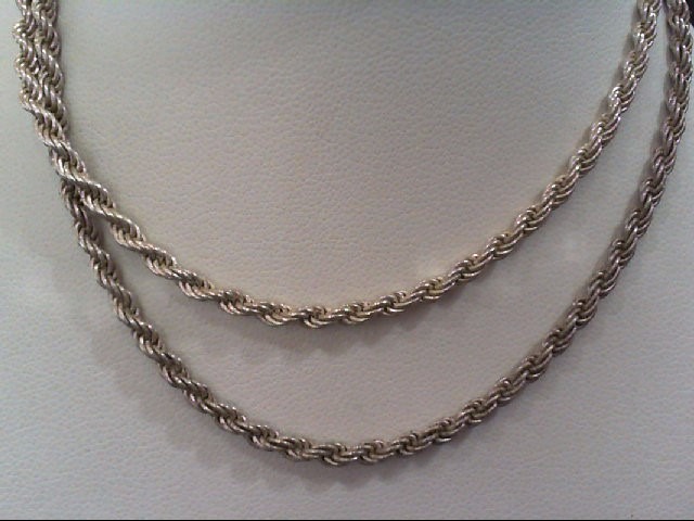 Silver Rope Chain 925 Silver 10.5g