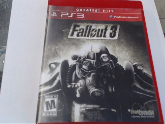 FALLOUT 3 PS3 GAME