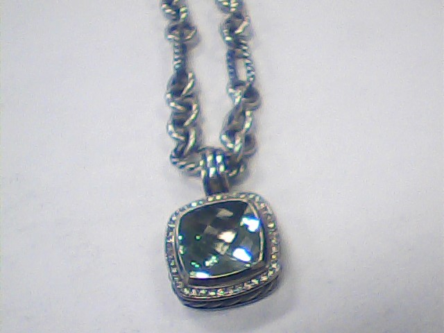 Diamond Necklace 60 Diamonds .60 Carat T.W. 925 Silver 35.5dwt