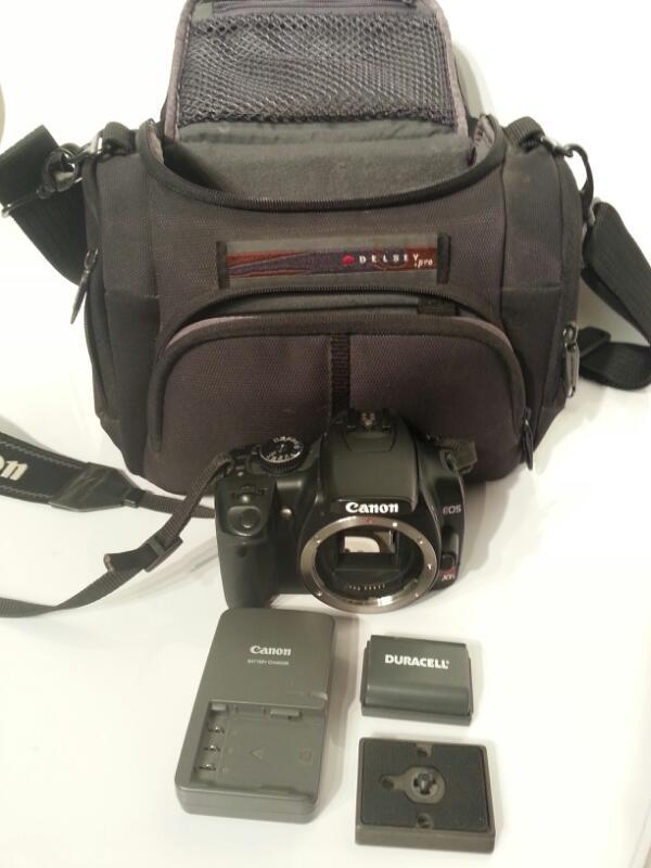 CANON Digital Camera EOS REBEL XTI - 400D