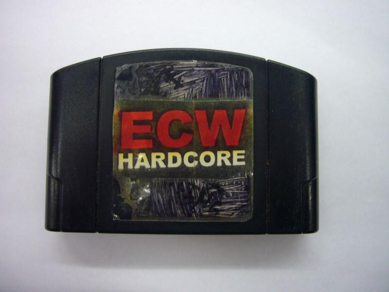 NINTENDO 64 Game ECW: HARDCORE REVOLUTION *CARTRIDGE ONLY*
