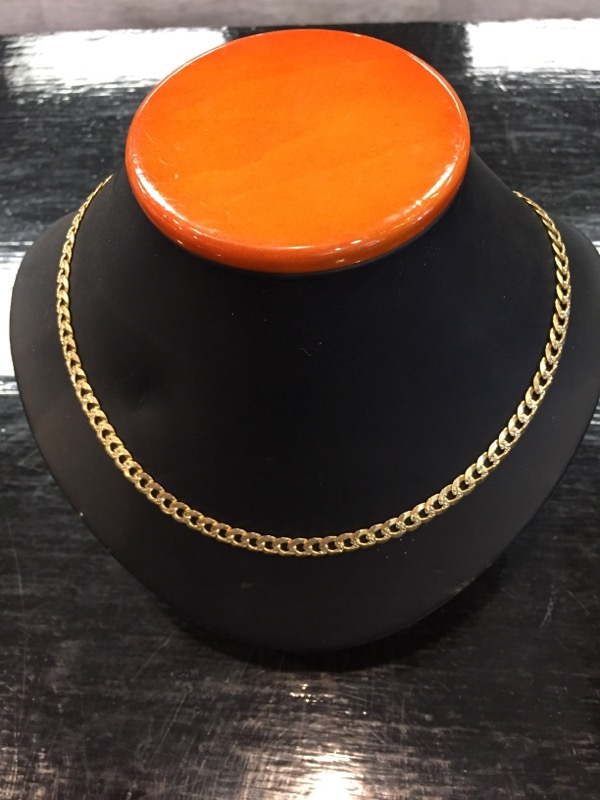 """20"""" Gold Chain 14K Yellow Gold 12.7dwt"""