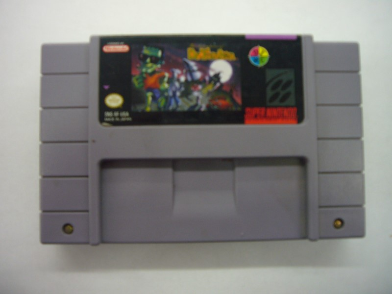 "NINTENDO SNES THE ADVENTURES OF DR FRANKEN ""GAME ONLY"""