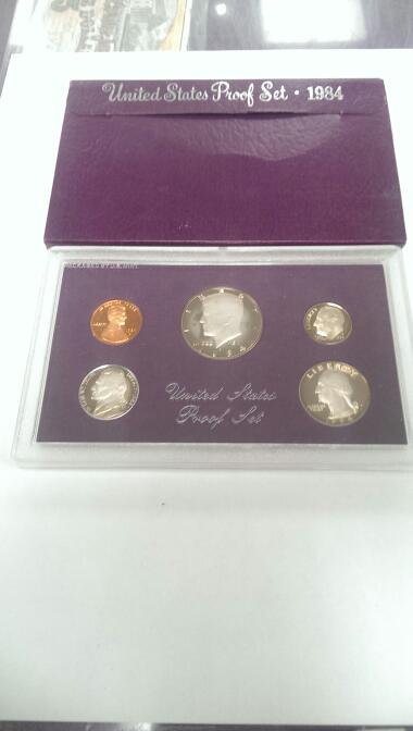 1984 UNITED STATES PROOF SET