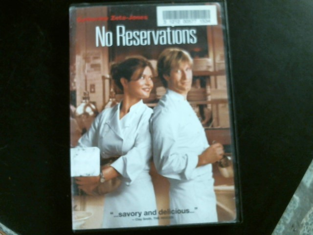 DVD MOVIE DVD NO RESERVATIONS