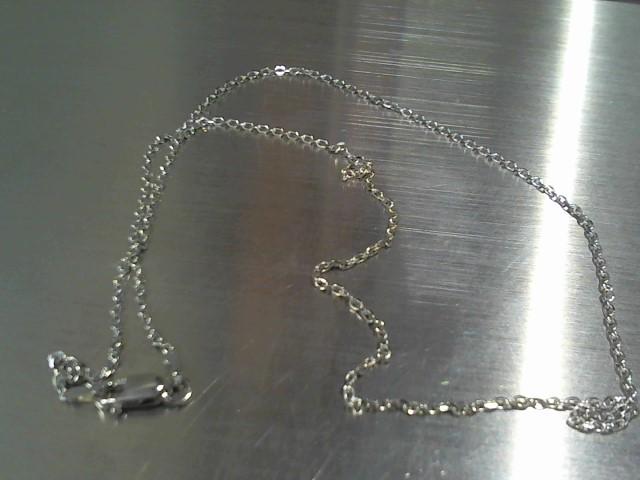 Gold Chain 14K White Gold 2.3g