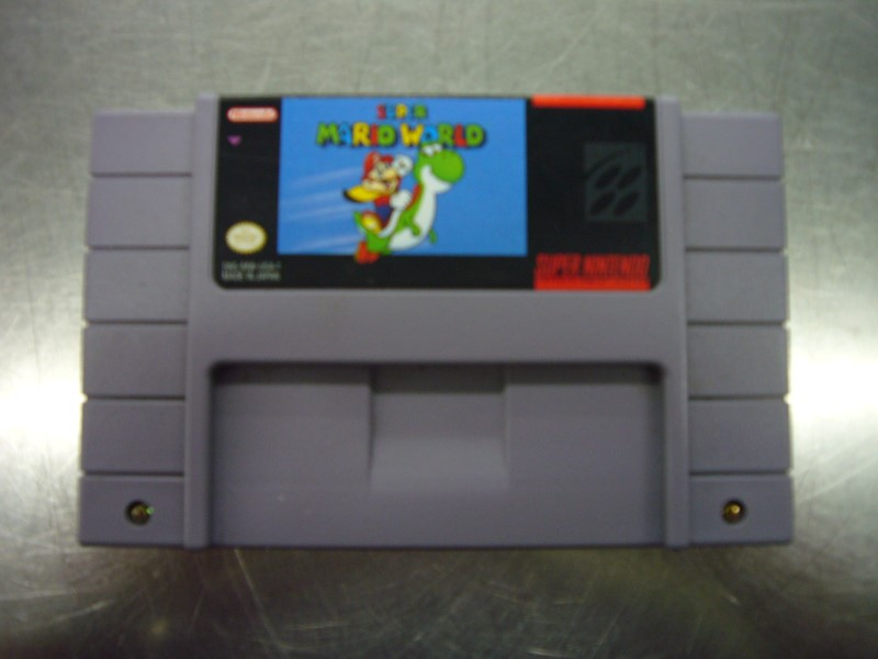 SNES SUPER MARIO WORLD *CARTRIDGE ONLY*
