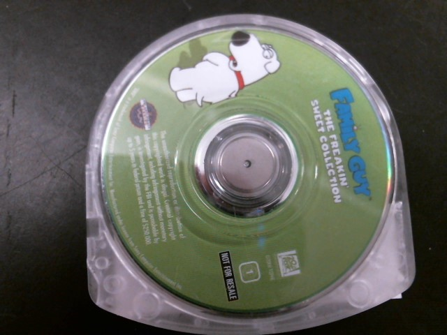 SONY Sony PSP Game PSP FAMILY GUY THE FREAKIN SWEET COLLECTION