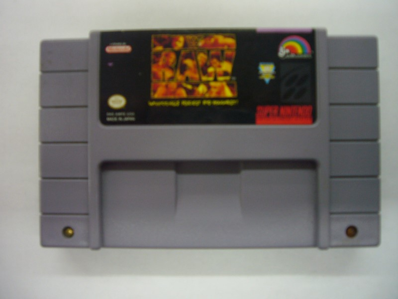 NINTENDO SNES Game WWF RAW *CARTRIDGE ONLY*