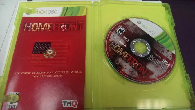 HOMEFRONT XBOX 360