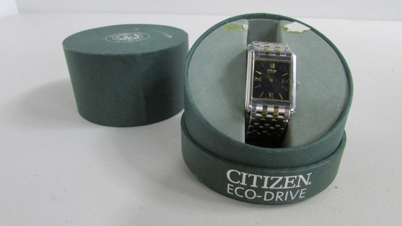 CITIZEN Gent's Wristwatch ECO-DRIVE G820