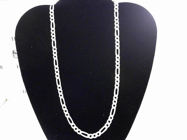 """20"""" Silver Figaro Chain 925 Silver 15.34dwt"""