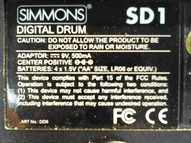 SIMMONS Drum SD1