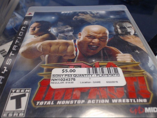 SONY PS3 TNA IMPACT!