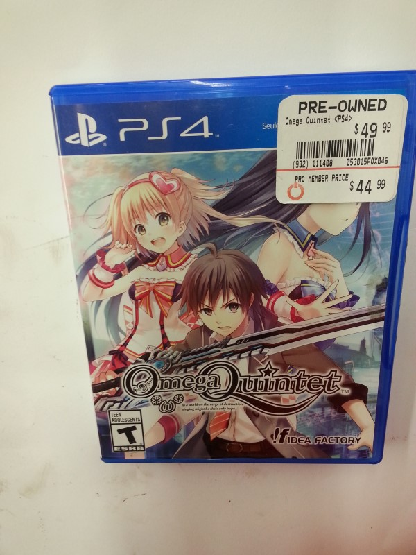 SONY Sony PlayStation Game OMEGA QUINTET