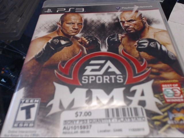 SONY PS3 EA SPORTS MMA