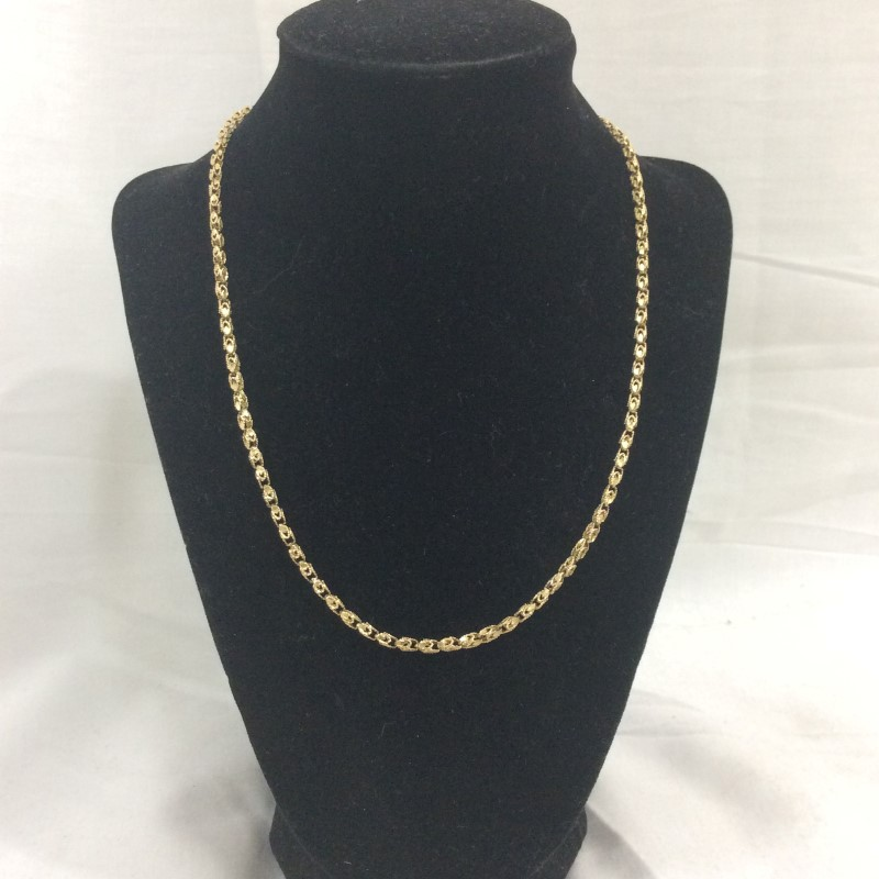 "19"" Gold Chain 14K Yellow Gold 7.1dwt"