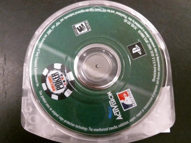 SONY Sony PSP Game WORLD SERIES OF POKER PSP