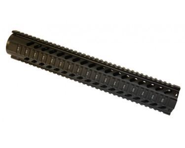 "GUNTEC 15"" Free Floating Quad Rail"