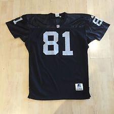 TIM BROWN AUTOHGRAPHED SIGNED RAIDERS JERSEY